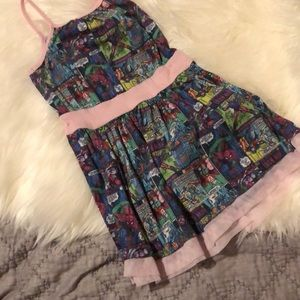 Girls Super Hero Comic Dress
